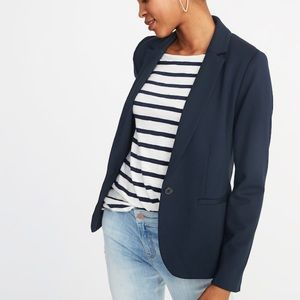 Classic Ponte-Knit Blazer for Women Tall Medium